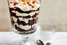 Christmas Desserts / From salted caramel pie to rich chestnut-chocolate mousse, here are fantastic Christmas desserts.