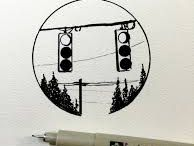 Little Pen drawings
