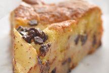 la torta cremosa di pere e cioccolato