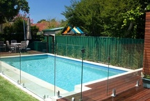 Swimming pool safety features