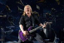 The Musican Erno Vuorinen / Erno Emppu Matti Juhani Vuorinen Gitarzysta Guitarist nightwish