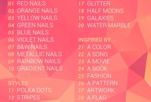 The 31 Day Challenge 2014 / #31DC2014 by Chalkboardnails
