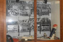 Baseball Displays / A collection of photos of the Baseball Displays we have had here at the John M. Pfau Library.