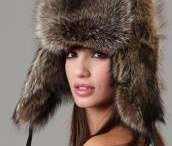 Rabbit Fur Hats and Gloves