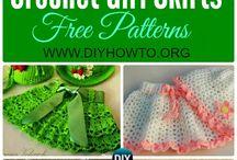 Crochet Girls Skirts