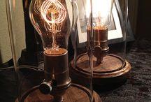 Upcycling Ideen - Lampen / Lampen, Licht und Beleuchtung - Von Klassisch bis Modern #Upcycling