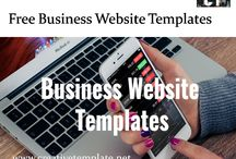 Business Templates / Browse and download Free Business Website Templates