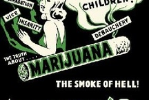 Vintage Cannabis Posters