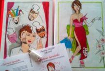 Livres / Projets d'illustrations, pulbications  https://nellygurb.wordpress.com/