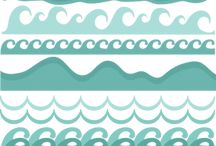 Beach and seaside scrapbooking goodies