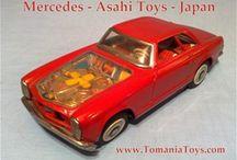 ATC  ASAHI Toys Japan / Asahi Gangsu Seisakusho - Santa Claus Logo (Est. 1951) Nippon=Japan: Asahi Toy Manufacturing (Factory)