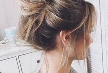 Cute messy buns