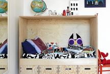 Contemporary Kids Room Inspiration / by Michele Daharsh