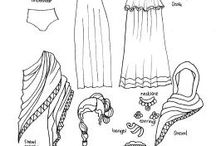 Ancient roman clothing,jewellry,and life