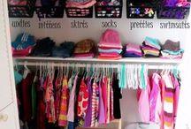 Kids Closet Organizing