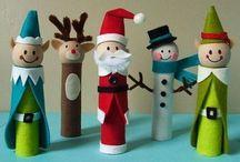 tvoření děti vánoce