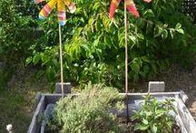 moulin de jardin