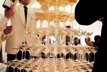 a toast to the bride and groom.