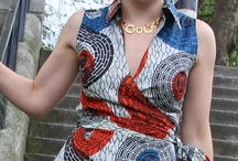 Bright and bold - African Print etc