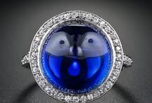 PT Antique and Vintage Sapphire Jewelry