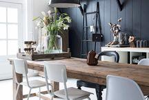 ROOM dining room / Eetkamer inspiratie