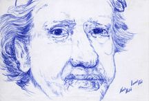 Bic-Art / Dibujos realizados con bolígrafo.