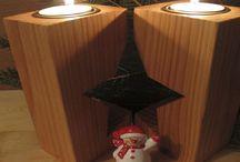 Kerzenhalter - Teelichthalter, Weihnachtsdeko