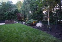 Complete Landscaping Project with Walkout Basement, Firepit, Interlocking and More!