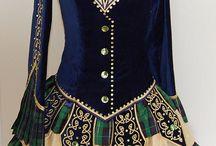 ирландское платье