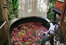 Baño floral