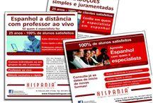 Curso de espanhol HISPANIA - Publicidade