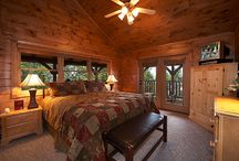 Large Cabins in Gatlinburg / Mutli-story cabins in the Smoky Mountains of Gatlinburg, TN, with up to 18 bedrooms! All luxury amenties and you split the cost! Bring that large party - and have a large party! http://www.CabinsOfTheSmokyMountains.com  / by Cabins Of The Smoky Mountains