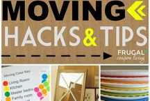 Moving Hacks & Tips For Your New Home / A few hacks and tips to help you comfortably move from your old home to your new one!
