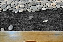 Flat pebble mat / Beach mat