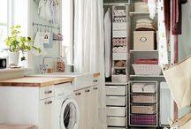 Laundry & storage / Домашняя прачечная, кладовка и организация хранения