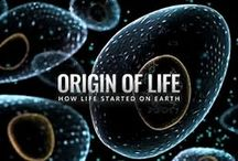 Origin of Life Evolution KdL365 / ''Origin of Life into History'', Until the early 19th century people believed in the regular spontaneous generation of life from non-living matter. This was disproved, that without spores no Bacteria or even Viruses Grew on Sterile Material. No real progress was made until Sir A. Oparin on 1924 that reasoned atmospheric prevented the synthesis of the organic molecules. Organic molecules are the necessary building blocks of life   ''evolution'',The Origine of Life.That's a ''primordail soup''.