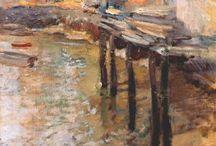 Impresionismo americano / cuadros de artistas impresionistas americanos