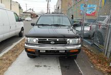 Used 1996 Nissan Pathfinder for Sale ($2,600) at Paterson, NJ / Make:  Nissan, Model:  Pathfinder, Year:  1996, Body Style:  Tractor, Exterior Color: Black, Interior Color: Gray, Fuel: Gasoline Hybrid, Vehicle Condition: Excellent, Mileage:141,000 mi, Engine: 6Cylinder 3.3L V6 OHV 12V, Transmission: Automatic.   Contact; 973-925-5626  Car ID (56644)
