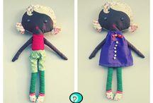 My toys......Personalitoys / unique handmade toys