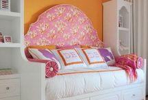 for her bedroom / tween girl bedroom design inspiration  / by Eryn Hall