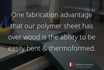 How to Fabricate (HDPE) Polymer Sheets