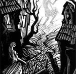 Vladimir Zimakov / Linocut illustrations