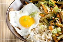 Korean Main Dishes:  Rice