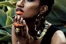 African make up
