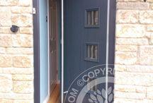 Solidor - Anthracite Grey Timber Composite Doors /  Solidor Timber Composite Doors #compositedoors #compositedoors #solidorcompositedoor #timbercompositedoors