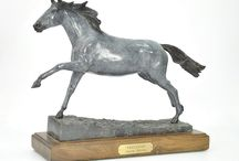 Equestrian Bronzes / This is a personal range of Equestrian Bronzes I made and sell directly.