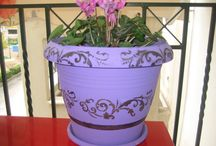 my personal creations / Flower pot