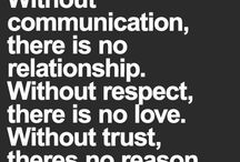 Words about relationships