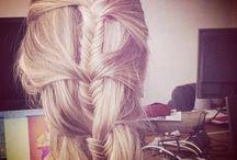 Hair up / Hair