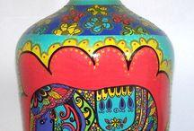 botellón de dama juana